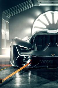Lamborghini Terzo Millennio 2019 Front View
