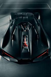 Lamborghini Terzo Millennio 2019 Rear