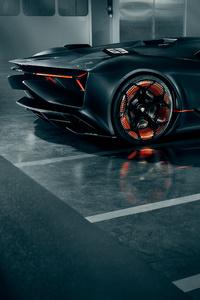 Lamborghini Terzo Millennio 2019 Rear View