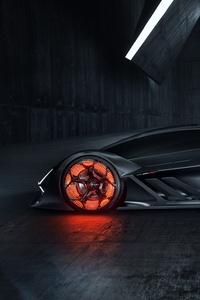 Lamborghini Terzo Millennio 2019 Side View Car