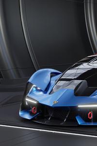 1440x2960 Lamborghini Terzo Millennio 4k New