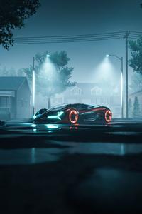 360x640 Lamborghini Terzo Millennio Concept Art 5k