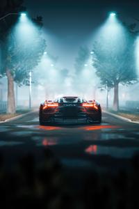 1440x2560 Lamborghini Terzo Millennio Rear 5k