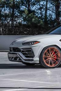 1242x2688 Lamborghini Urus 8k 2019