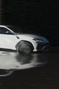 240x320 Lamborghini Urus In White