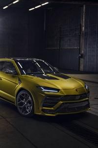 1080x2280 Lamborghini Urus Novitec 4k