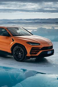 360x640 Lamborghini Urus Pearl Capsule Orange 8k