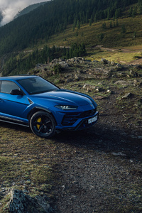 Lamborghini Urus SUV Blue