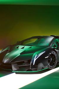 Lamborghini Veneno Roadster 2021 8k