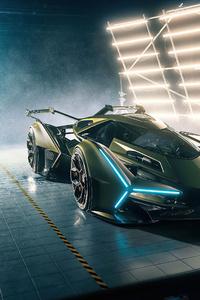 1440x2960 Lamborghini Vision Gran Turismo 4k