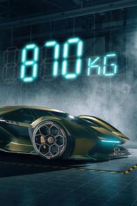 1440x2960 Lamborghini Vision GT