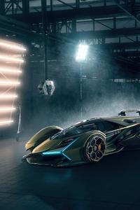 1440x2960 Lamborghini Vision GT And Terzo Millennio
