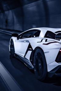 Lamborghini White 5k