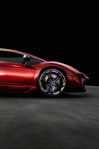 480x800 Lamorghini Aventador LP 700 4 Side 5k