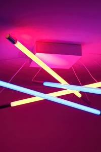 Lamp Neon Lights 4k