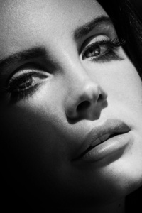 Lana Del Rey Monochrome