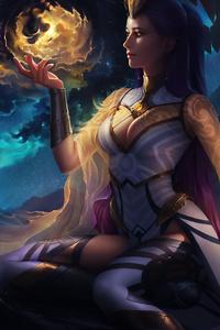 1125x2436 Lana Solaris Domeano Fantasy 5k