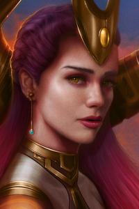 750x1334 Lana Solaris Fantasy Art