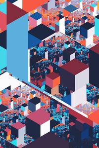 Land Of Cubes 4k
