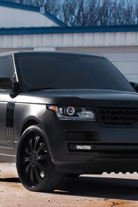 240x320 Land Rover Black Matte