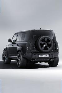 2160x3840 Land Rover Defender 110 V8 Bond Edition Rear