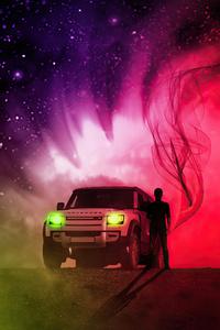 Land Rover Defender Manipulation 4k