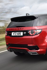 Land Rover Discovery Sport HSE Si4 Dynamic Lux Rear 2017