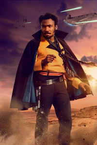 Lando Calrissian In Solo A Star Wars Story Movie 5k