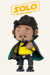 480x800 Lando Calrissian Solo A Star Wars Story 4k Art