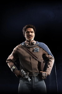 1242x2688 Lando Calrissian Star Wars Battlefront II 2017