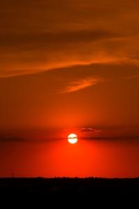 640x1136 Landscape Evening Sunset