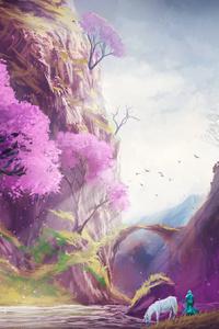 320x480 Landscape Fantasy Art