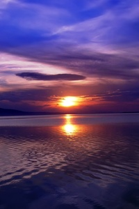 Landscape Lake Sun 5k