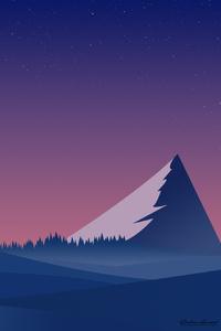 Landscape Mountains Minimalist