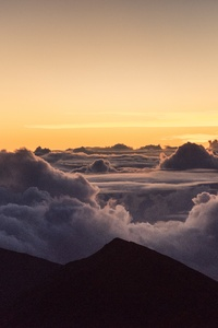 Landscape Nature Clouds 5k