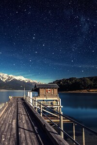 720x1280 Landscape Reflection Lake Full HD