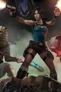 1440x2560 Lara Croft And The Temple Of Osiris