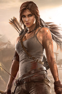 1280x2120 Lara Croft Arts