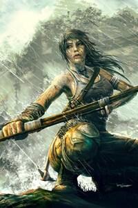 Lara Croft Fantasy Girl