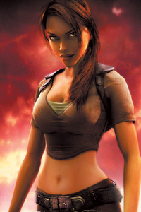 750x1334 Lara Croft In Tomb Raider Game 4k