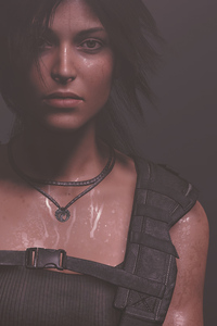 Lara Croft Portrait 4k