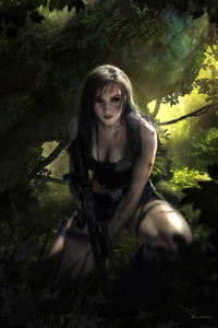 1242x2688 Lara Croft Tomb Raider 5k