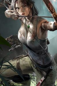 Lara Croft Tomb Raider Girl 4k