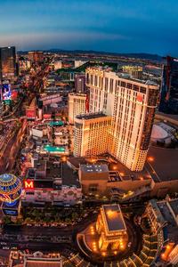 750x1334 Las Vegas Buildings Lights