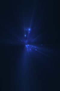 1440x2960 Last Blue Light Digital Art 5k