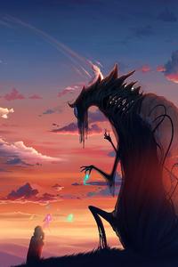 1080x1920 Last View Dragon Fantasy 4k