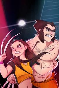 360x640 Laura And Logan X Men 5k