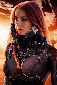 320x480 Laureline Cosplay In Valerian And The City Of A Thousand Planets 4k