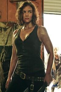 320x480 Lauren Cohan As Maggie