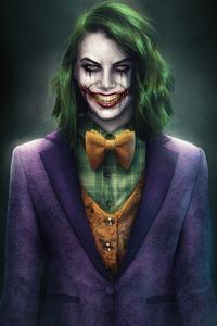 1125x2436 Lauren Cohan Joker Concept Art 5k